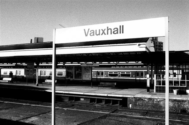 Vauxhall station S Beer photo